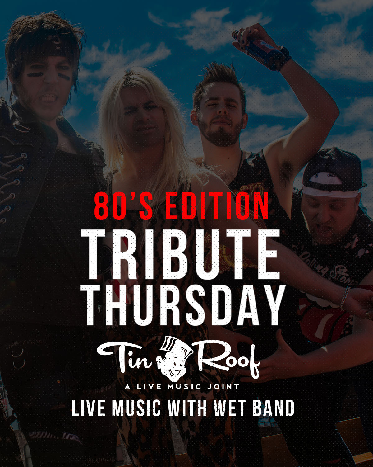 TRIBUTE THURSDAY - 2nd floor Stage